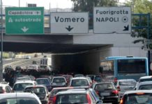 Tangenziale di Napoli, verifiche sul viadotto Capodichino: chiusa una corsia