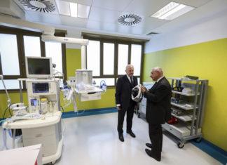 Sanità, aperto il nuovo pronto soccorso all'Ospedale Santobono di Napoli