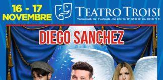 Diego Sanchez al Teatro Troisi di Fuorigrotta con lo spettacolo 'Sipario in paradiso'