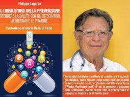 """""""Il libro d'oro della prevenzione"""", è boom di vendite per il libro di Philippe Lagarde"""