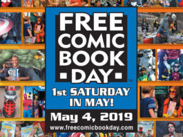 Torna il Free comic book day Italia 2019