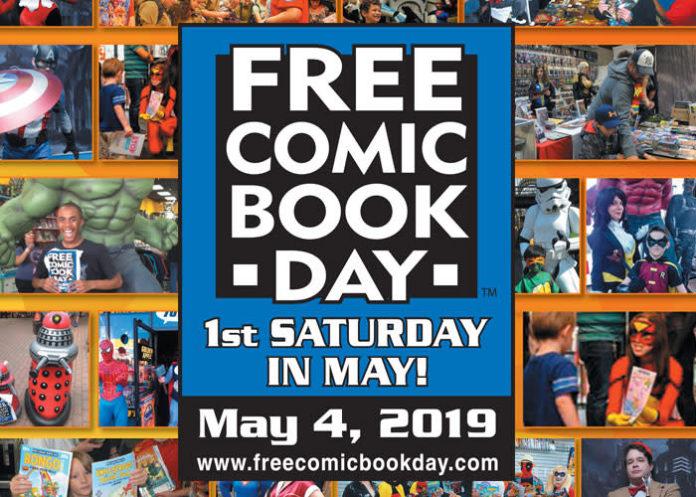 Torna il Free comic book day Italia 2019