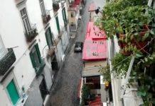 Bomba d'acqua su Napoli: muri crollati e strade allagate (VIDEO)