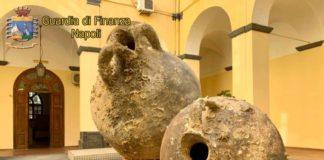 Torre del Greco, blitz della GdF: sequestrati reperti archeologici a imprenditore
