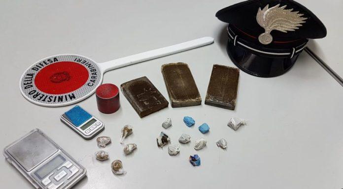 Benevento, droga nascosta in casa disabitata: un arresto e una denuncia