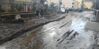 Rischio colate fango a Sarno, evacuate 200 persone