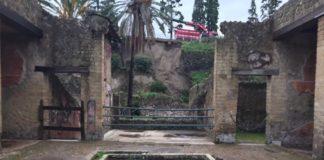 Maltempo, frana agli scavi di Ercolano: per il momento solo danni lievi
