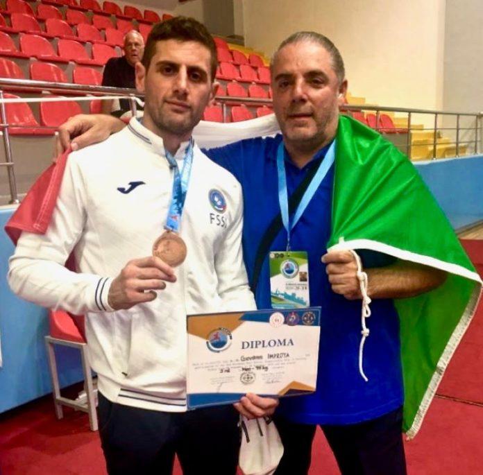Campionati Europei FSSI 2019 in Antalya: medaglia di bronzo per Giovanni Improta nel karate