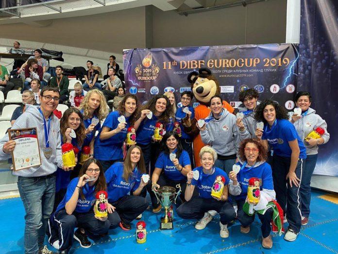 Eurocup Sordi Mosca 2019: Due allenatrici della Campania Vice Campionesse d'Europa