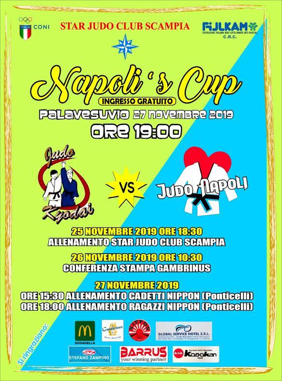 Napoli's Cup: il grande judo all'ombra del Vesuvio dopo le Universiadi