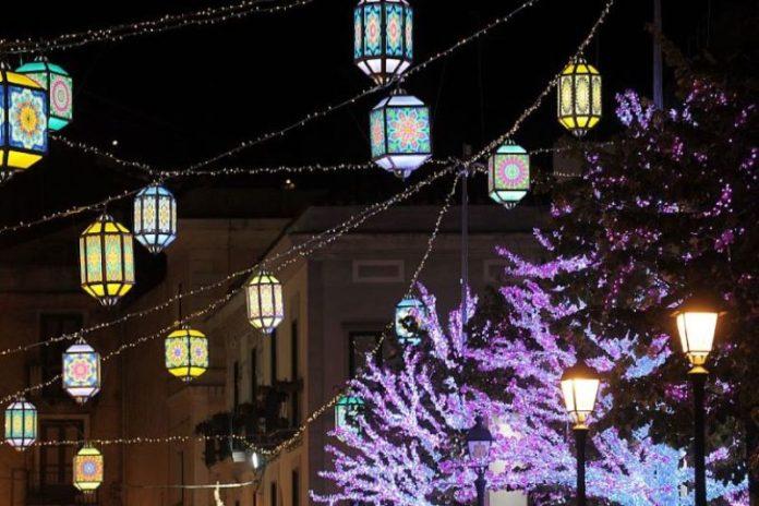 Natale 2020, il Covid ferma le Luci d'Artista a Salerno