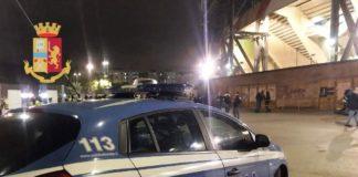 Questura di Napoli: a novembre 11 Daspo per scavalcamenti, petardi e aggressioni