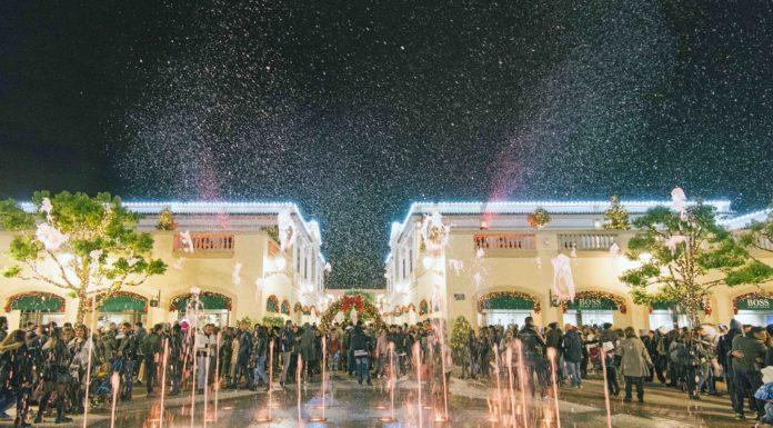 A La Reggia Designer Outlet l'accensione del grande albero di Natale. Tutti gli eventi in programma