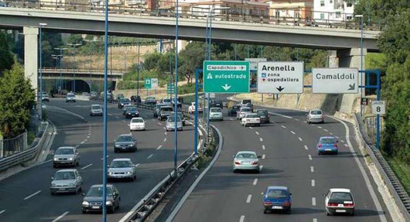 Tangenziale, buone notizie: domani riapre la terza corsia del viadotto Capodichino