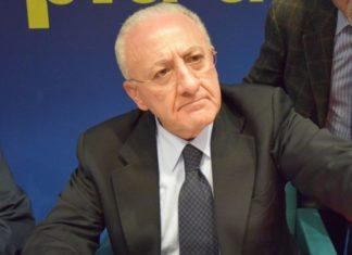 """De Luca: """"Incontro con il Ministro delle infrastrutture: velocizzare i collaudi per i 6 nuovi treni"""""""