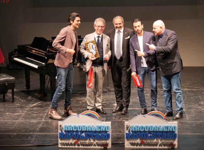 A Giuseppe Giorgio premio speciale per il giornalismo l'Arcobaleno Napoletano