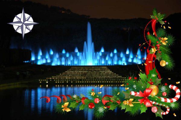 Fuorigrotta, a Natale Mostra d'Oltremare aperta con lo spettacolo della Fontana dell'Esedra