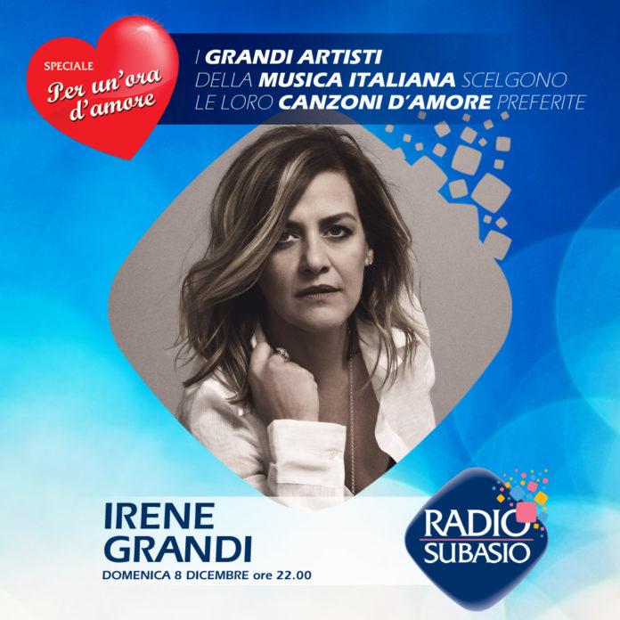 Radio Subasio: Irene Grandi ospite a Speciale Per Un'Ora d'Amore