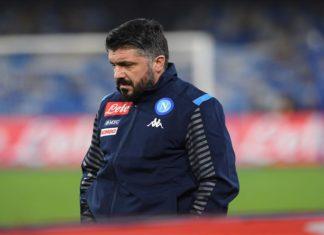 """Calcio Napoli, è notte fonda. Gattuso """"scivola"""" alla prima ed il Parma passa al San Paolo 2-1"""
