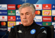 """Calcio Napoli, Ancelotti: """"Siamo concentrati, ma la valigia è sempre pronta"""""""