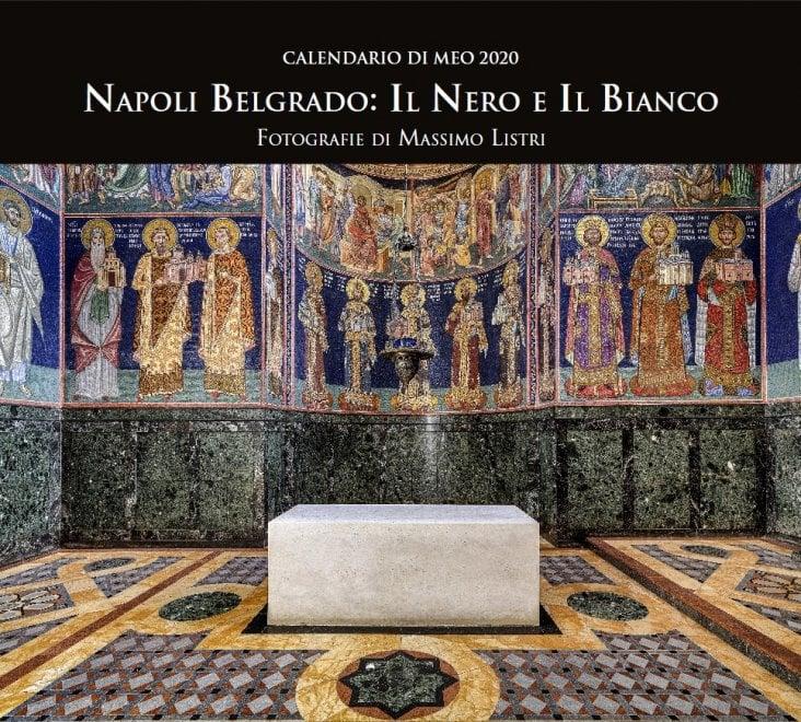 Napoli- Belgrado, il calendario di Meo arriva al Palazzo Serra di Cassano