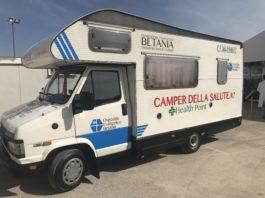 Alla Stazione Centrale di Napoli arriva il Camper della Salute della Fondazione Betania di Ponticelli