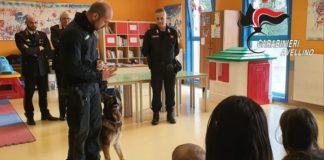Ospedale Moscati: Carabinieri visitano reparto di Pediatria col cane Pirat
