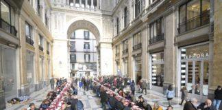 Galleria Umberto I di Napoli: oggi il pranzo di Natale per 250 poveri