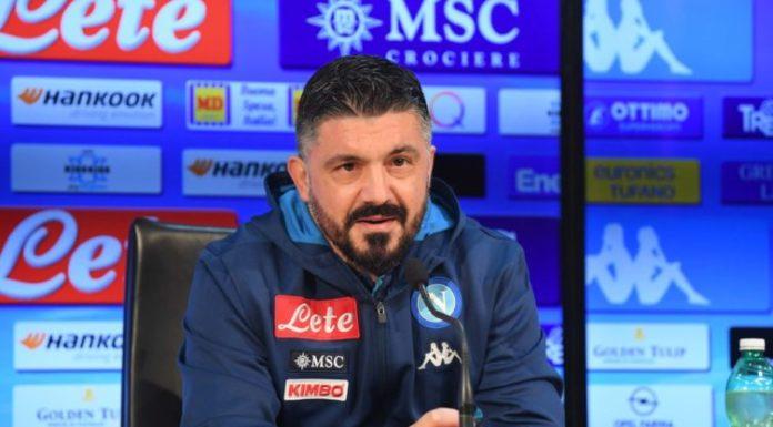 """Calcio Napoli, Gattuso: """"Non ho paura, dobbiamo tornare a divertirci"""""""