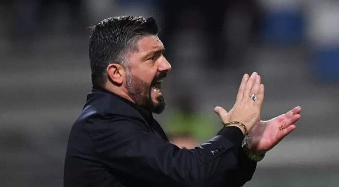 """Napoli-Barcellona, Gattuso: """"Nessuna gabbia per Messi"""""""