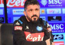 """Calcio Napoli, Gattuso non pensa al Barcellona: """"Testa solo al Brescia"""""""