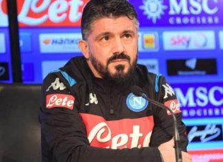 """Calcio Napoli, ecco Gattuso: """"Dobbiamo solo pensare a lavorare"""""""