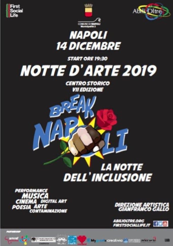 Eventi a Napoli del 14-15 dicembre: spicca la Notte d'Arte al Centro storico