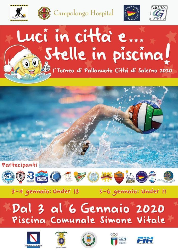 Pallanuoto: a Salerno arriva il torneo Luci in città e stelle in piscina