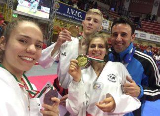 Campionati italiani Taekwondo: due ori ed un bronzo per gli atleti di Teverola