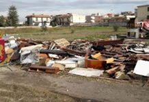 Castellammare di Stabia, controlli della Polizia: sequestro di legname per i falò