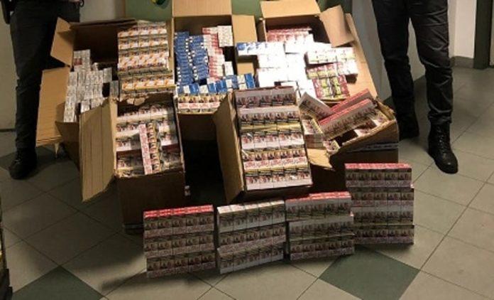 Chiaiano, sequestrata una tonnellata di sigarette di contrabbando