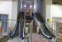 Stazione Marittima, ridotto lo scalone d'ingresso per realizzare due scale mobili