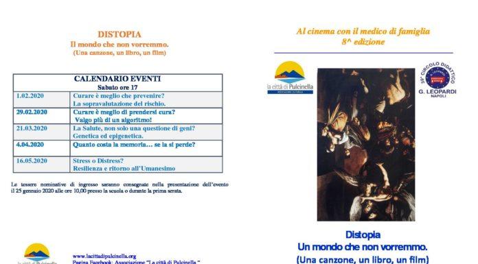 Riparte 'Al cinema con il medico di famiglia', un'iniziativa dell'Associazione La città di Pulcinella