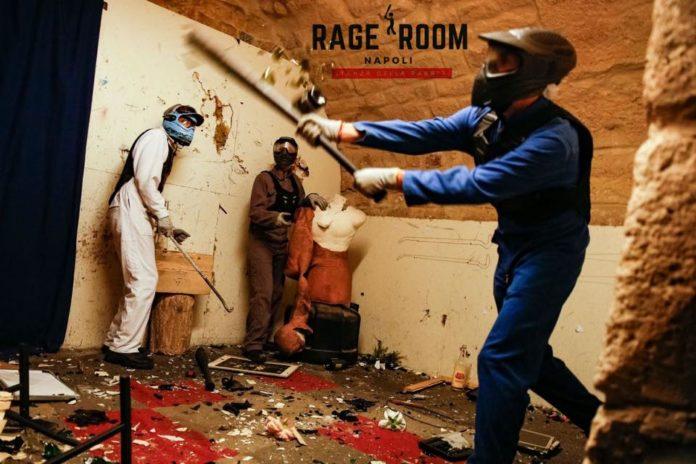 A Fuorigrotta apre la Rage Room: