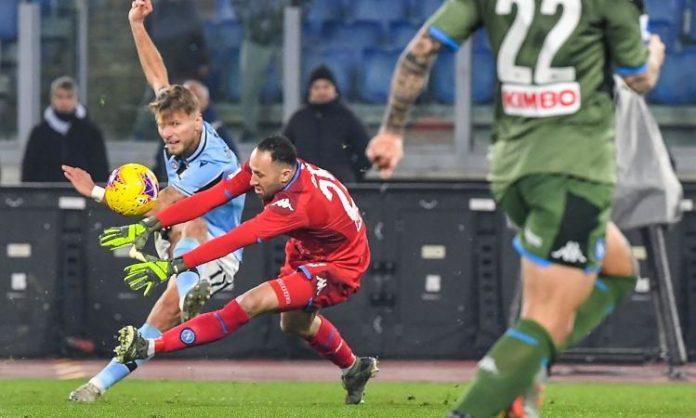 Calcio Napoli incredibile: ancora un errore lo condanna. 1-0 per la Lazio
