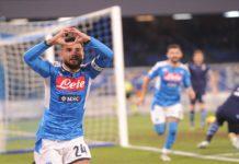 Calcio Napoli finalmente cuore e sacrificio. Battuta la Lazio 1-0. Gli azzurri sono in semifinale di Coppa Italia