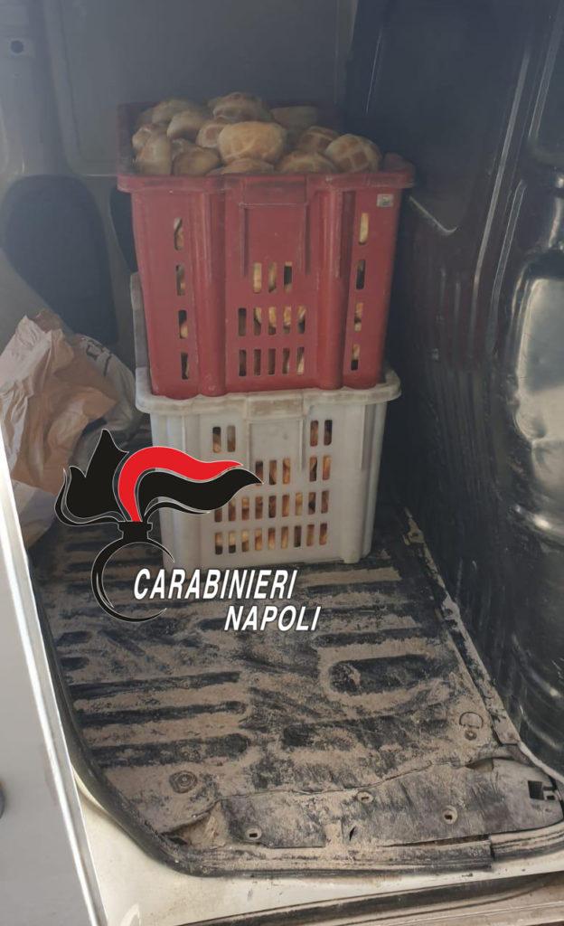 Sicurezza alimentare a Napoli e provincia: sequestrati 200 chili di pane in pessimo stato