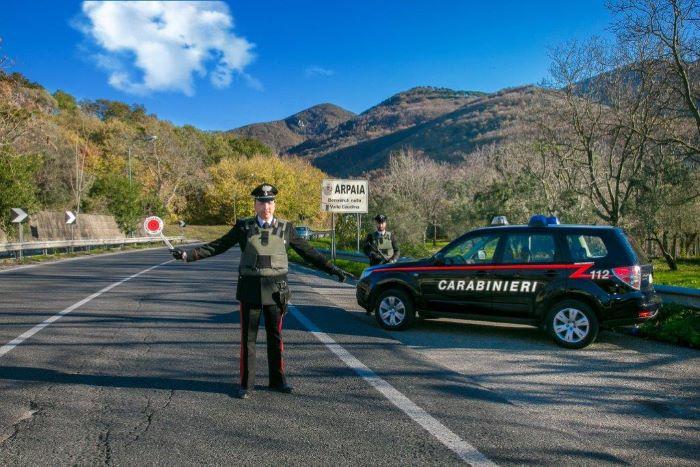 Montesarchio, operazione alto impatto dei Carabinieri: due arresti e quattro denunce