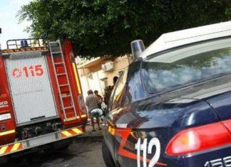 Casoria, incendio in casa: carabinieri e vigili del fuoco salvano anziani