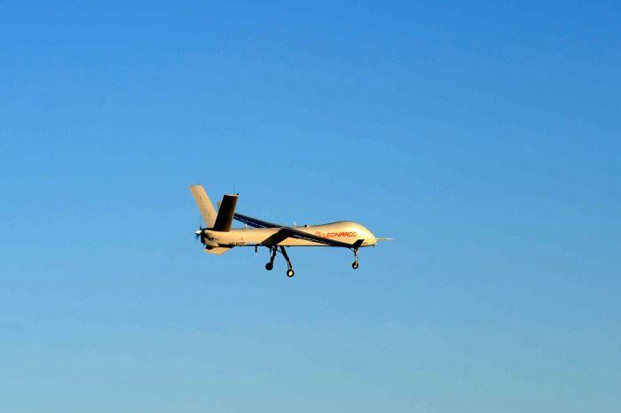 Leonardo: il nuovo drone Falco Xplorer completa con successo il primo volo