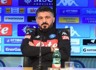 """Napoli-Juventus, Gattuso: """"Sarri ha creato una macchina perfetta"""""""