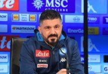 """Napoli-Torino, Gattuso: """"E' la partita perfetta per capire se siamo guariti"""""""
