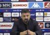 """Calcio Napoli, lo sfogo di Gattuso: """"Basta polemiche"""""""