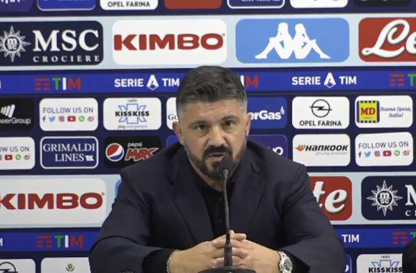 Calcio Napoli, lo sfogo di Gattuso: